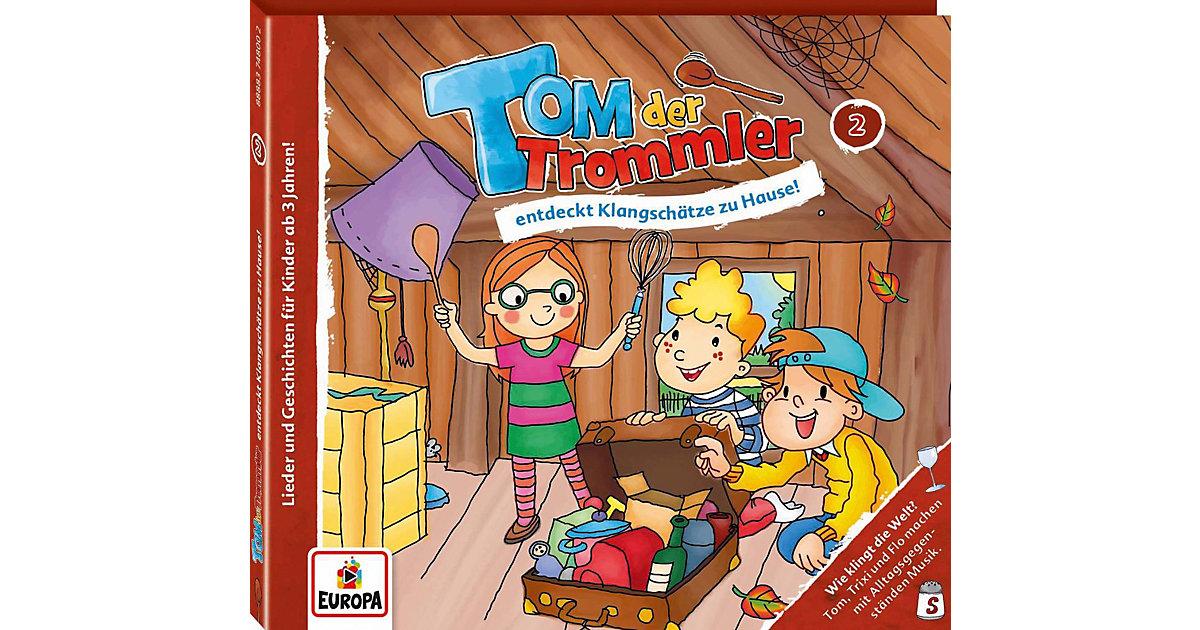 CD Tom der Trommler 2 - entdeckt Klangschätze 2