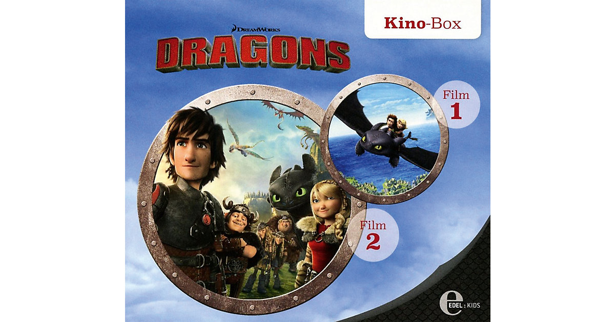 CD Drachenzähmen leicht gemacht 1 - Kino-Box