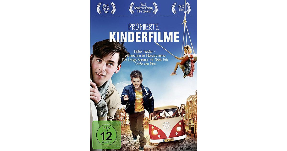 DVD Prämierte Kinderfilme (Mister Twister, Wirbelsturm im Klassenzimmer, Der lustige Sommer m. Onkel Erik, Grüße von Mike) Hörbuch