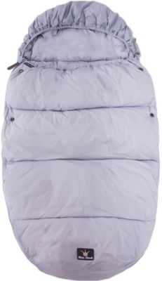 Конверт зимний пуховый Marble Grey, Elodie Details, серый