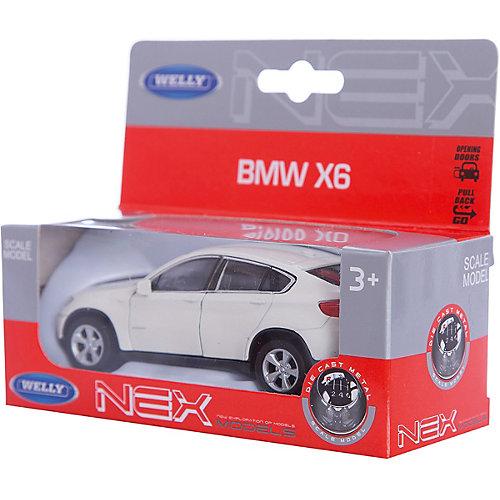 Модель машины 1:38  BMW X6, Welly от Welly
