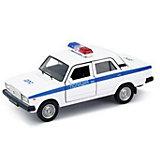 Модель машины  1:34-39 LADA 2107 ПОЛИЦИЯ, Welly