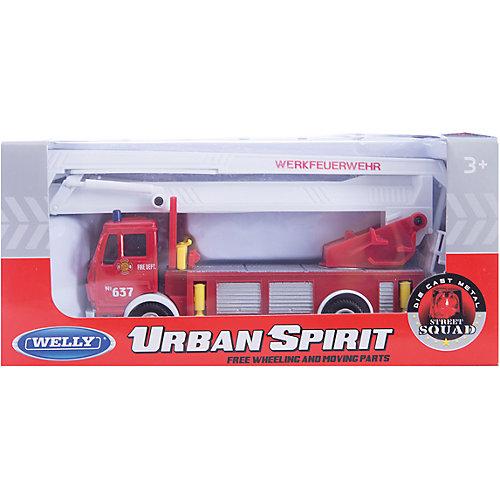Модель машины Пожарная машина, Welly от Welly
