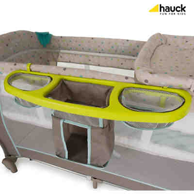 Reisebett Babycenter, multi dots sand