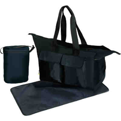 Wickeltasche Care Me, charcoal