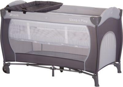 Hauck Reisebett Sleep/'n Play Center 60 x 120 cm Stone NEU