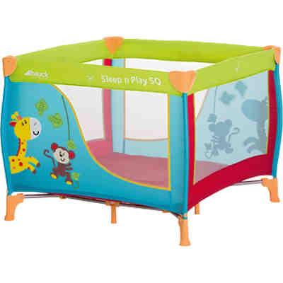 reisebettmatratze sleeper sq jungle fun hauck mytoys. Black Bedroom Furniture Sets. Home Design Ideas