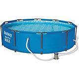 Каркасный бассейн  с ф.-насосом, 4678 л, Bestway