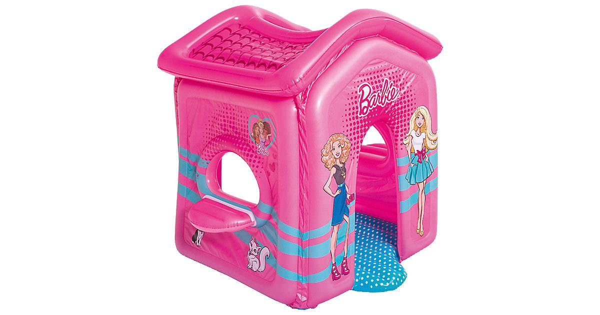 BESTWAY · Aufblasbares Spielhaus Barbie Malibu, 150x135x142 cm