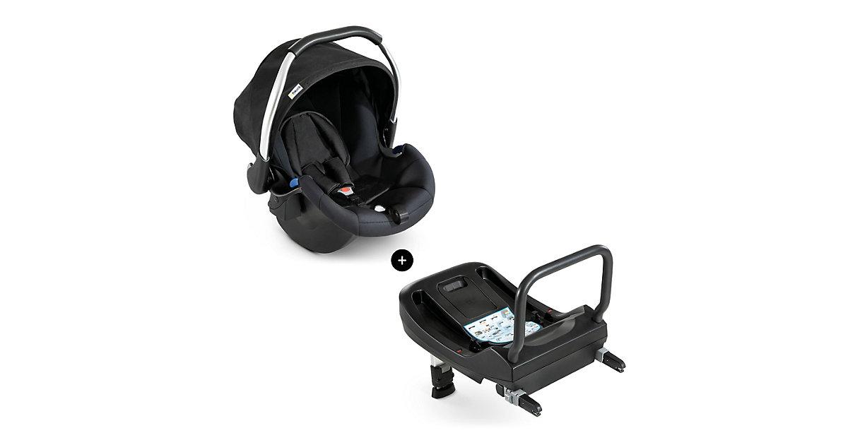 Hauck · Babyschale Comfort Fix inkl. Isofix Base, black Gr. 0-13 kg