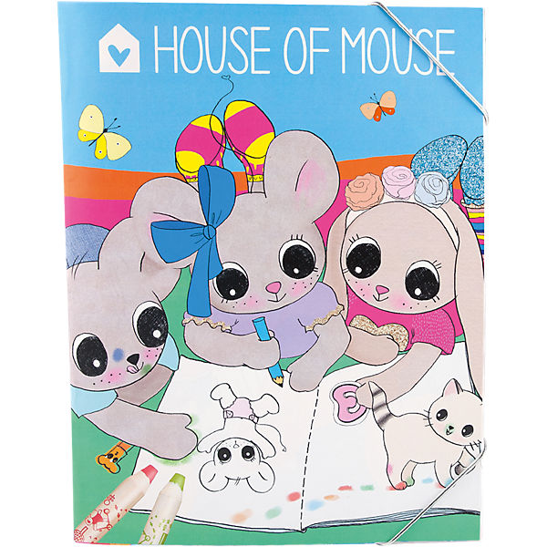 House of Mouse Malbuch
