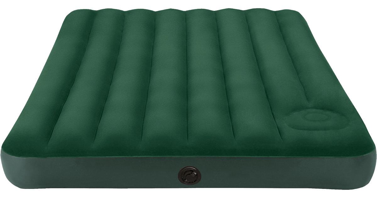 Luftbett Downy, 191 x 137 x 22 cm dunkelgrün
