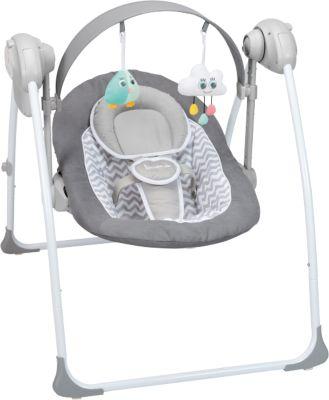Komfort Babyschaukel grau