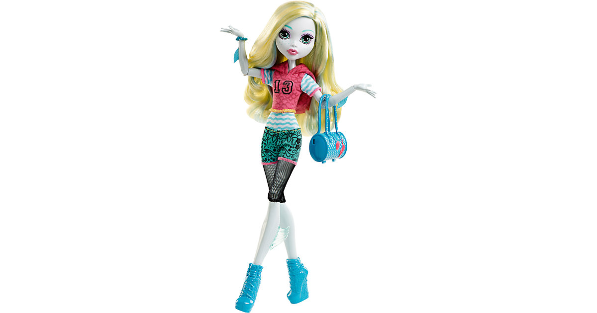 Monster High Todschicke Monsterschülerin Lagoona