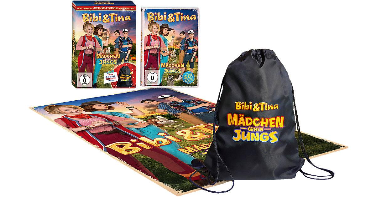 DVD Bibi & Tina 3 - Mädchen gegen Jungs Deluxe-...