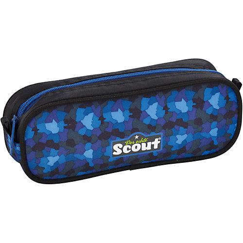 "Ранец Scout ""Sunny"" Трактор с наполненеием - синий/зеленый от Scout"