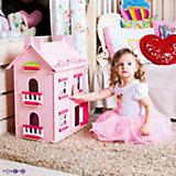 """Кукольный домик Paremo """"Милана"""" с мебелью, 14 предметов"""