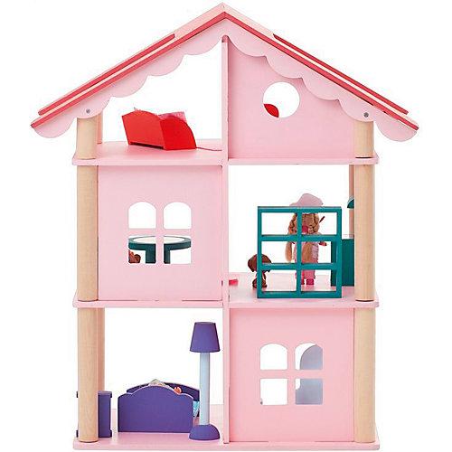 """Кукольный домик Paremo """"Роза Хутор"""" с мебелью, 15 предметов от PAREMO"""