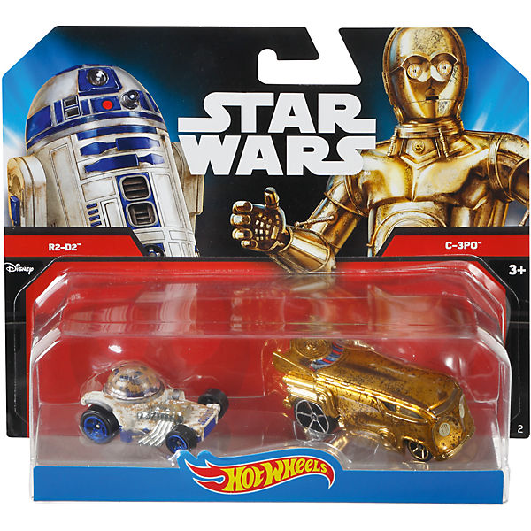 "Набор машинок Hot Wheels ""Star Wars"" C-3PO и R2D2"