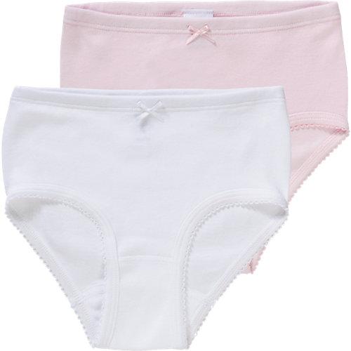 Sanetta Hüftslips Doppelpack , Organic Cotton Gr. 128 Mädchen Kinder   04055502346305