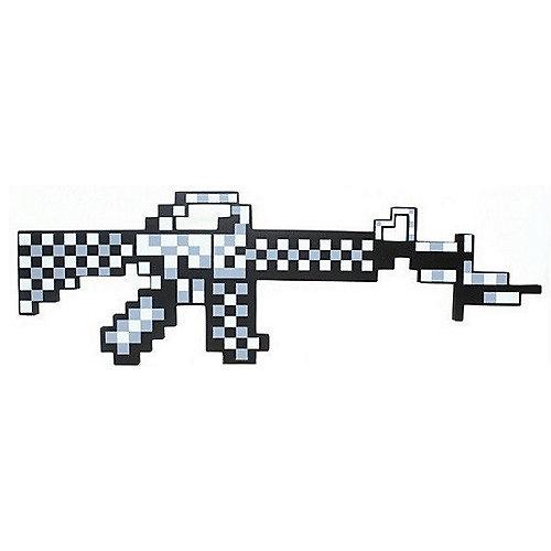 Пиксельный автомат, серый, 62 см, Minecraft от Pixel Crew