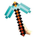 Пиксельная кирка, алмазная, 45 см, Minecraft