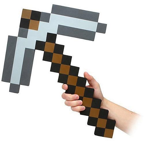 Пиксельная кирка, коричневая, 45 см, Minecraft от Pixel Crew