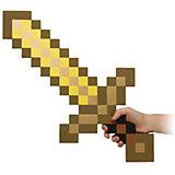 Пиксельный меч, золотой, 60 см, Minecraft