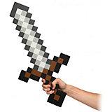 Пиксельный меч, коричневый, 60 см, Minecraft