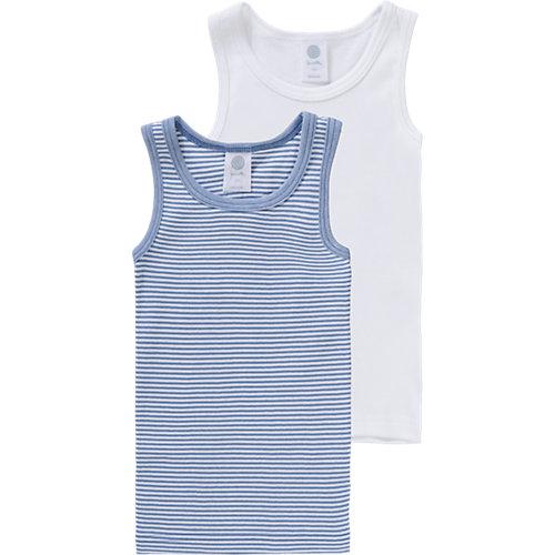Sanetta Unterhemden Doppelpack , Organic Cotton Gr. 140 Jungen Kinder | 04055502346367