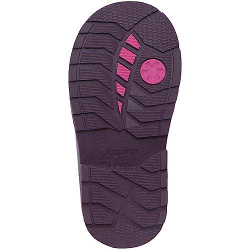 Утепленные ботинки Kapika - красный от Kapika