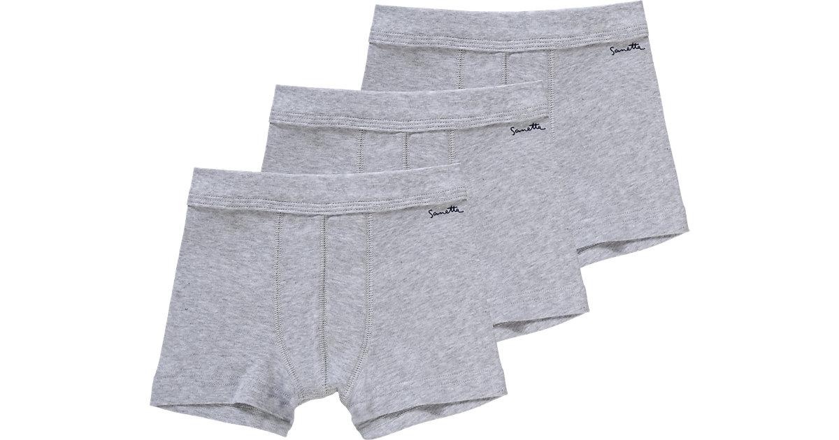 Sanetta · Boxershorts 3er-Pack , Organic Cotton Gr. 176 Jungen Kinder