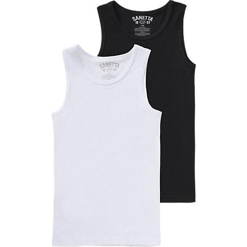 Unterhemden Doppelpack Gr. 140 Jungen Kinder | 04055502346978
