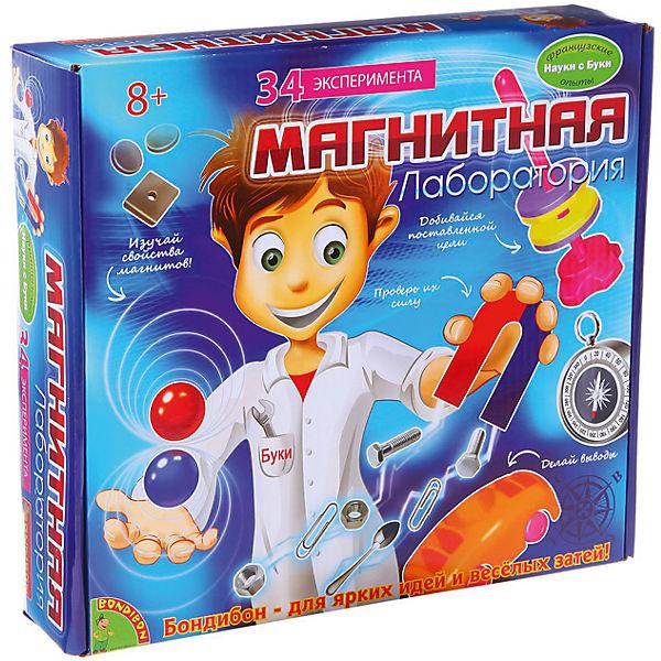 """Французские опыты """"Магнитная лаборатория"""" (35 экспериментов)"""