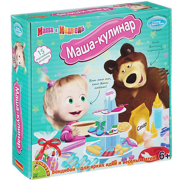 """Французские опыты """"Маша-кулинар"""" (15 экспериментов), Маша и медведь"""