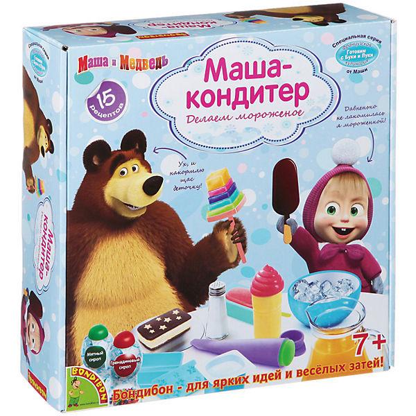 """Французские опыты """"Маша-кондитер"""" (15 экспериментов), Маша и медведь"""