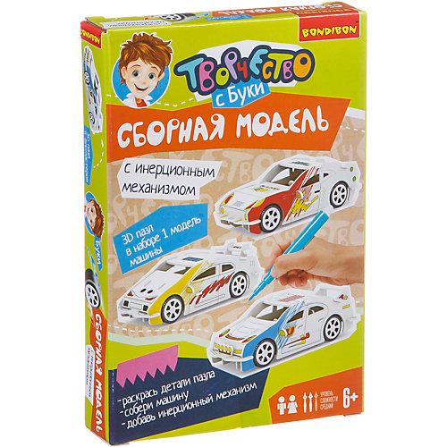 """Сборная 3D-модель """"Гоночная машина"""" от Bondibon"""