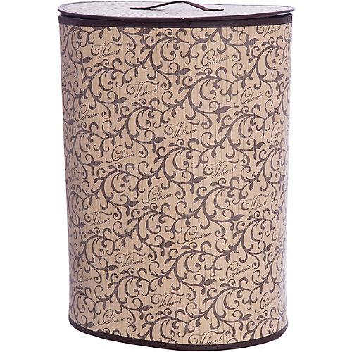 Корзина для белья с крышкой, 30*40*55 см, CLASSIC, Valiant от VALIANT