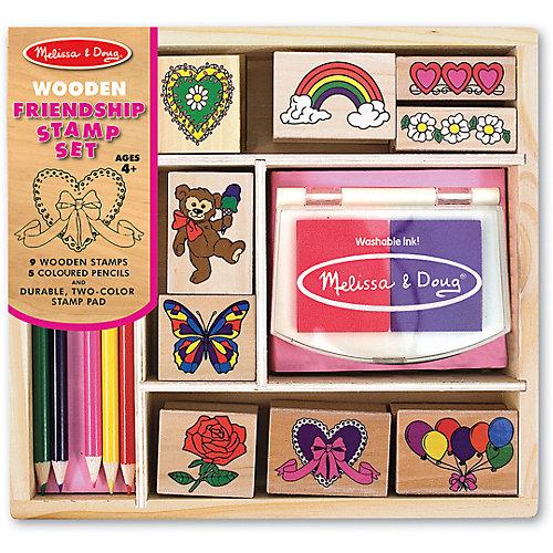 "Набор печатей ""Дружба"" от Melissa & Doug"