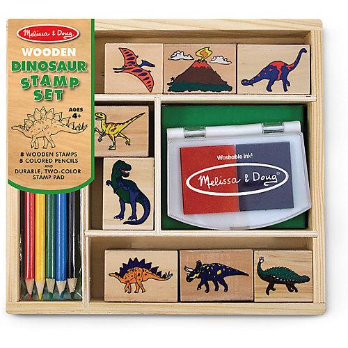 """Набор печатей """"Динозавры"""" от Melissa & Doug"""