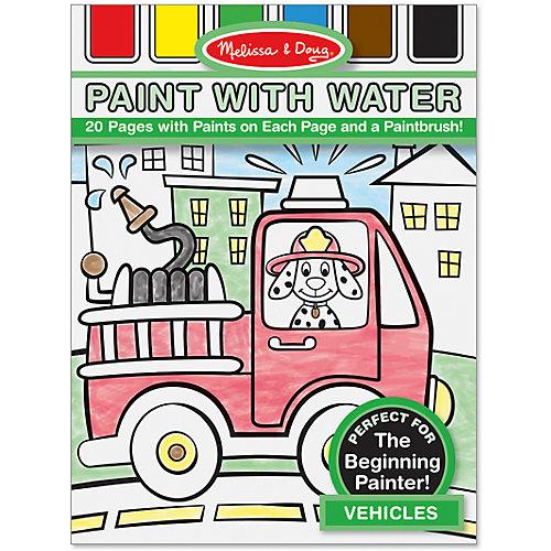 """Набор """"Рисуем водой: Транспорт"""" от Melissa & Doug"""