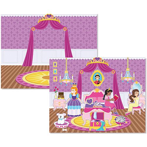 """Книжка с многоразовыми наклейками """"Принцессы"""" от Melissa & Doug"""