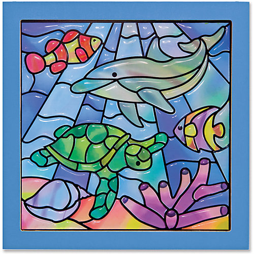 """Цветное стекло """"Подводные фантазии"""" от Melissa & Doug"""