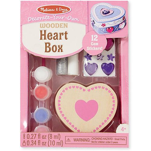"""Создай свою шкатулку """"Сердце"""" от Melissa & Doug"""