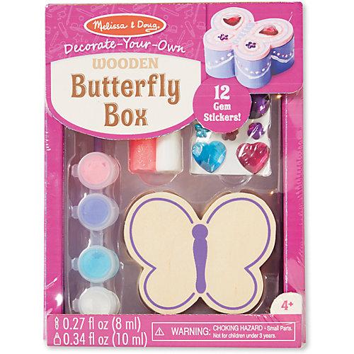 "Набор создай свою шкатулку ""Бабочка"" от Melissa & Doug"