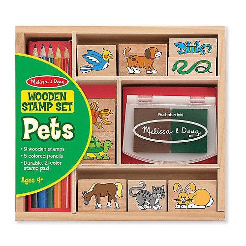 """Набор печатей """"Животные"""" от Melissa & Doug"""