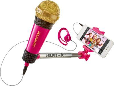 Selfie MIC Mikrofon pink