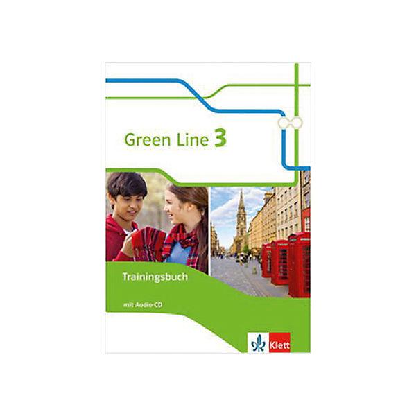 green line neue ausgabe f r gymnasien 2014 7 klasse trainingsbuch mit audio cd klett. Black Bedroom Furniture Sets. Home Design Ideas
