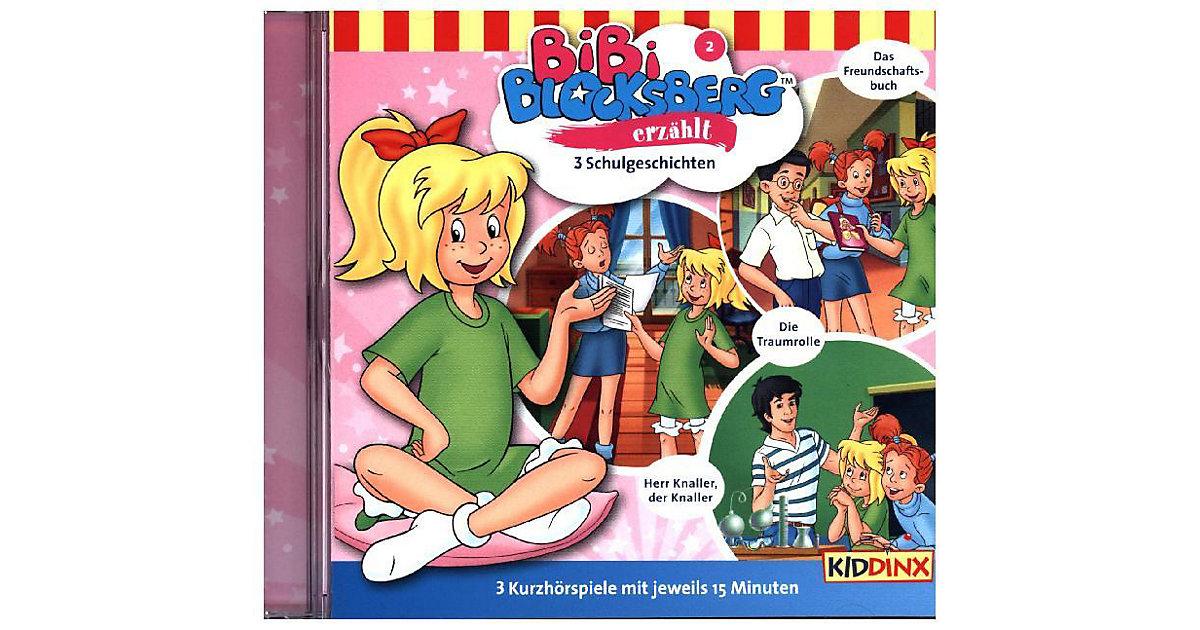 CD Bibi Blocksberg erzählt... Folge 2: Schulgeschicht Hörbuch