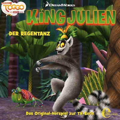 CD King Julien 4 - Der Regentanz